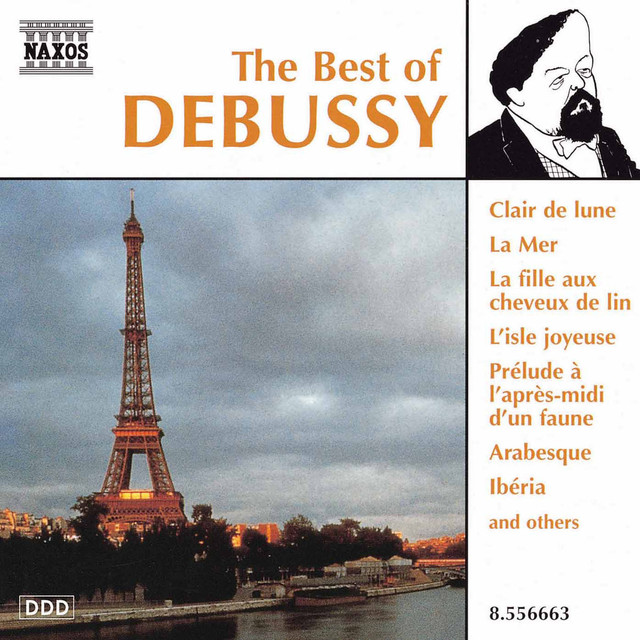 Debussy : The Best Of Debussy Albumcover