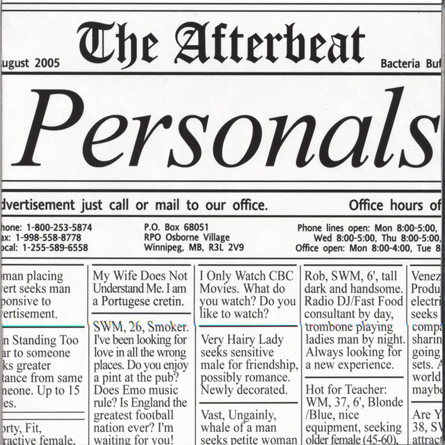 Newspaper personals