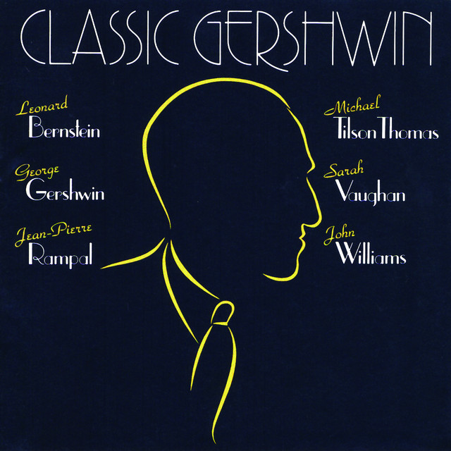 George Gershwin, Various Artists Classic Gershwin album cover