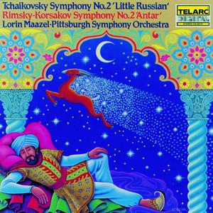 """Tchaikovsky: Symphony no. 2 """"Little Russian"""" / Rimsky-Korsakov: Symphony no. 2 """"Antar"""" album"""