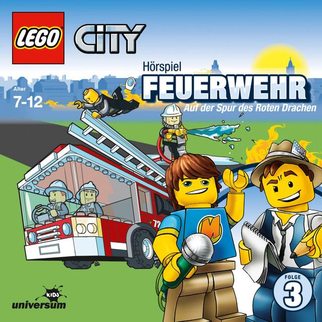 Folge 3: Lego City - Feuerwehr - Auf der Spur des Roten Drachen Cover