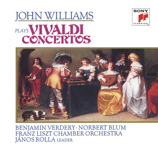 John Williams Plays Vivaldi Concertos Albumcover
