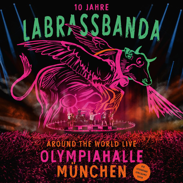 Album cover for Around the World (Live) by LaBrassBanda