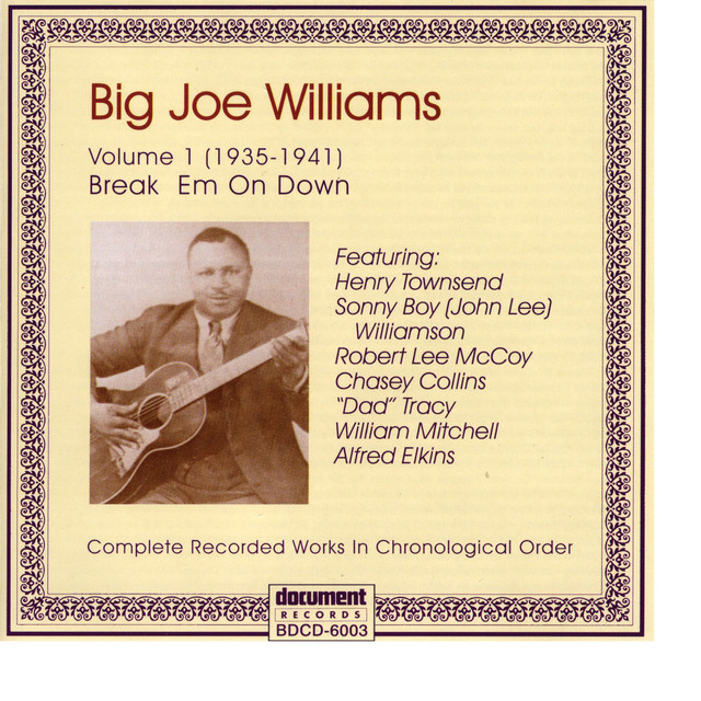Big Joe Williams Vol. 1 1935 - 1941