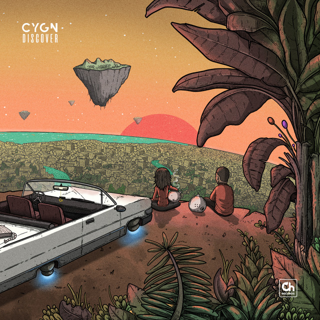Album cover for Discover by C Y G N