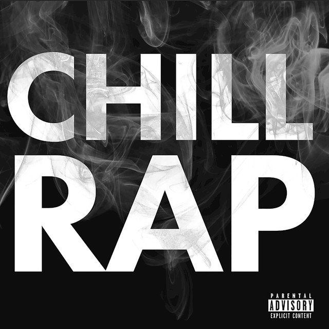 Album cover for Chill Rap by Various Artists