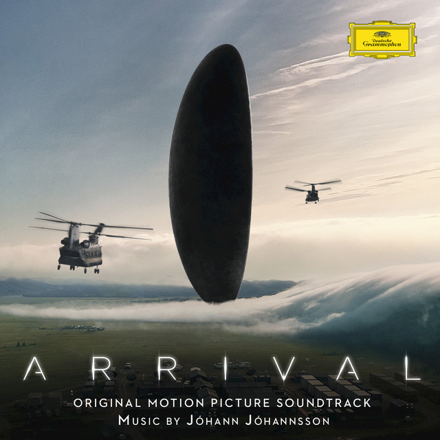 Album cover for Arrival (Original Motion Picture Soundtrack) by Jóhann Jóhannsson