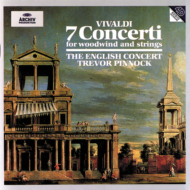 Vivaldi: 7 Concerti for woodwind and strings Albumcover