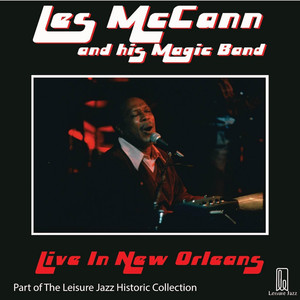 Les McCann and His Magic Band: Live in New Orleans album