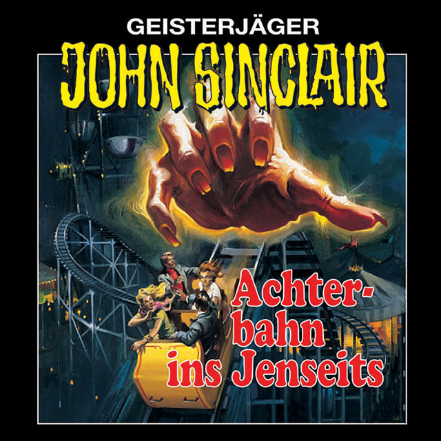 Folge 3: Achterbahn ins Jenseits (Remastered) Cover