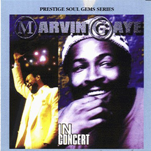 Marvin Gaye in Concert Albumcover
