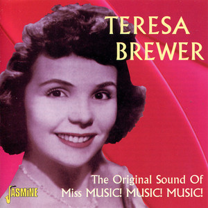 Teresa Brewer Music, Music, Music cover