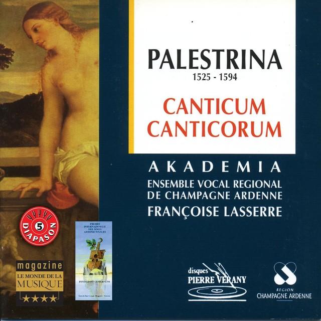 Palestrina : Canticum Canticorum Albumcover