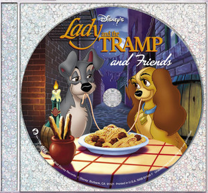 Lady and The Tramp and Friends  - Disney