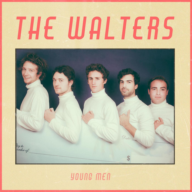 Album cover for Young Men by The Walters