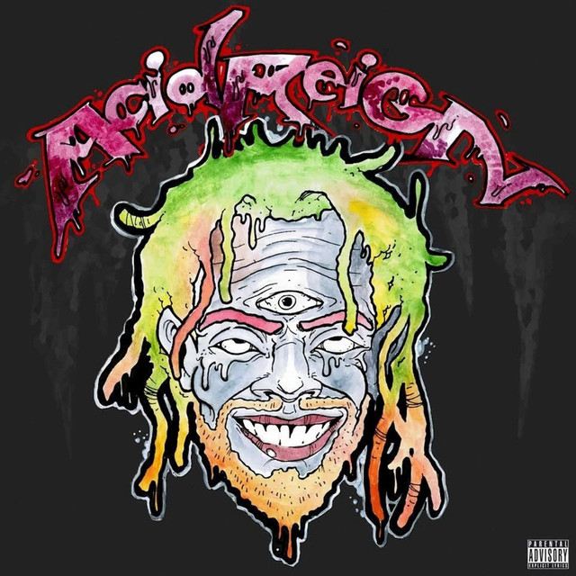Album cover for Acid Reign by DillanPonders