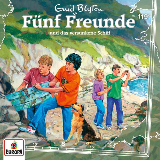 Album cover for 119/und das versunkene Schiff by Fünf Freunde