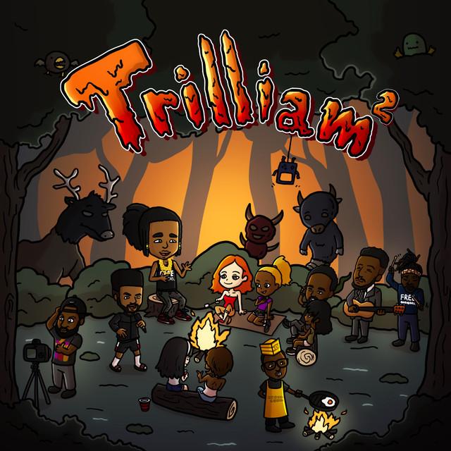 Album cover for Trilliam 2 by Aha Gazelle