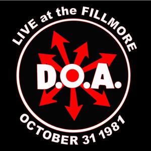 Live at the Fillmore 1981 album