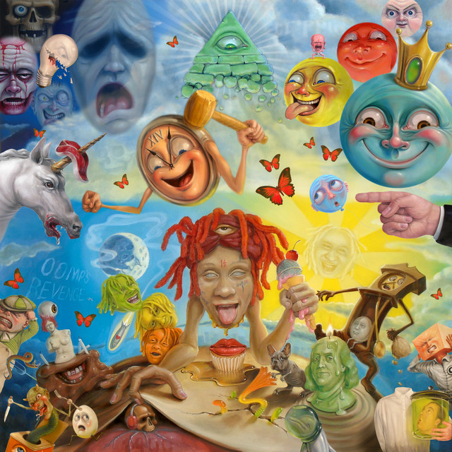 Album cover for LIFE'S A TRIP by Trippie Redd
