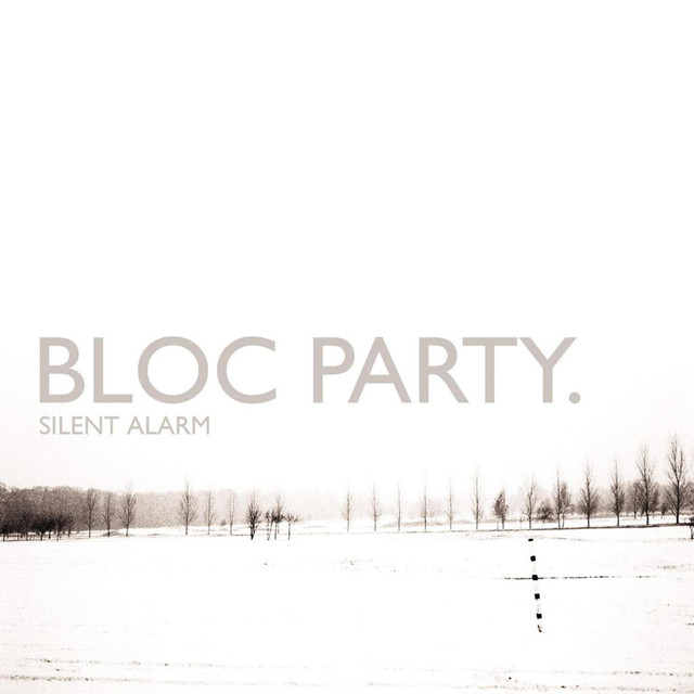 Album cover for Silent Alarm by Bloc Party