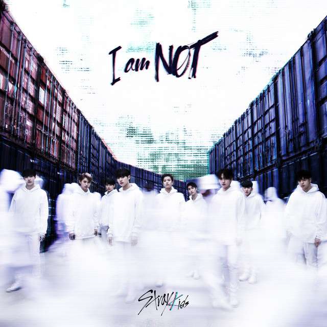 Album cover for I am NOT by Stray Kids