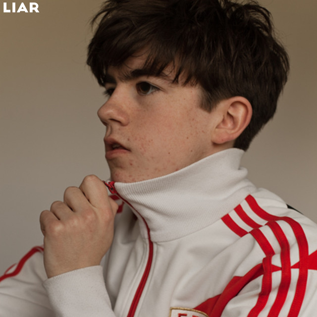 Album cover for Liar by Declan McKenna