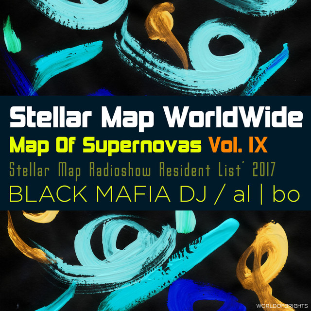 Map Of Supernovas Vol. IX
