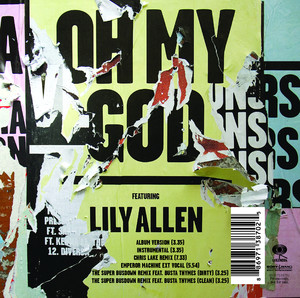 Mark RonsonLily Allen Oh My God cover