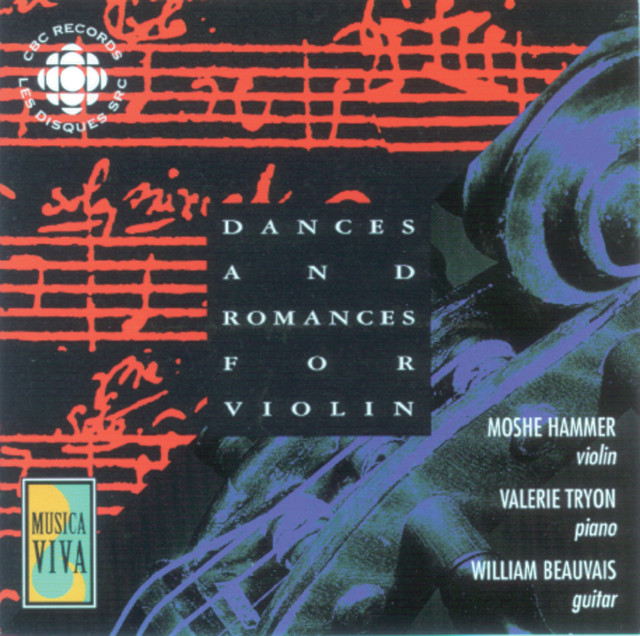 Ross / Debussy / Bach / Paganini: Dances and Romances for Violin Albumcover