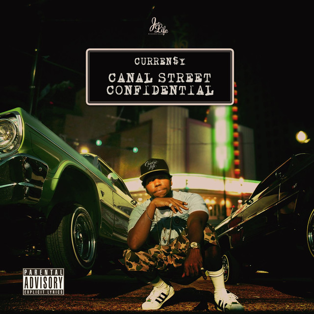 Album cover for Canal Street Confidential (Deluxe) by Curren$y