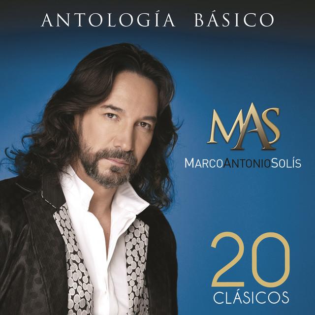 Marco Antonio Solís Antología Básico (20 Clásicos) album cover