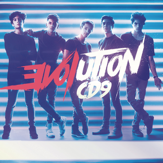 Album cover for EVOLUTION by CD9