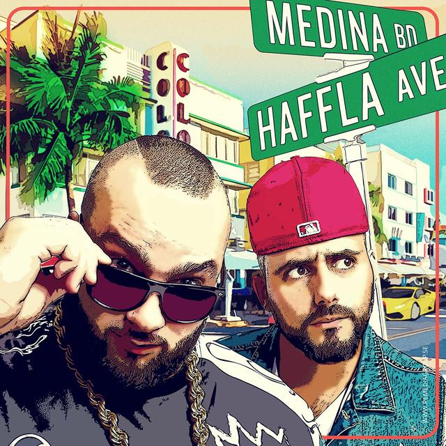 Haffla Avenyn Albumcover
