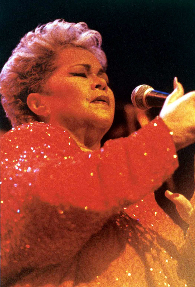Etta James The Moon Is Full cover