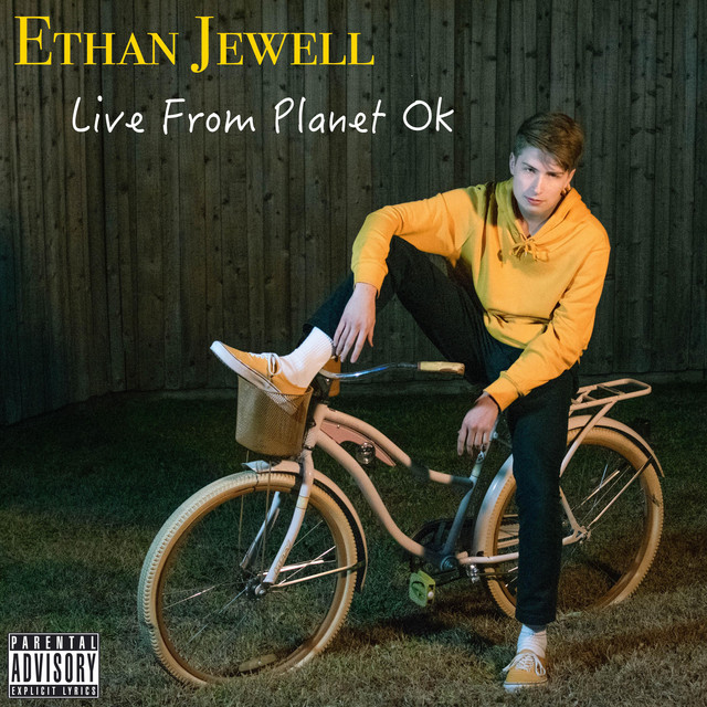 Album cover for Live from Planet Ok by Ethan Jewell
