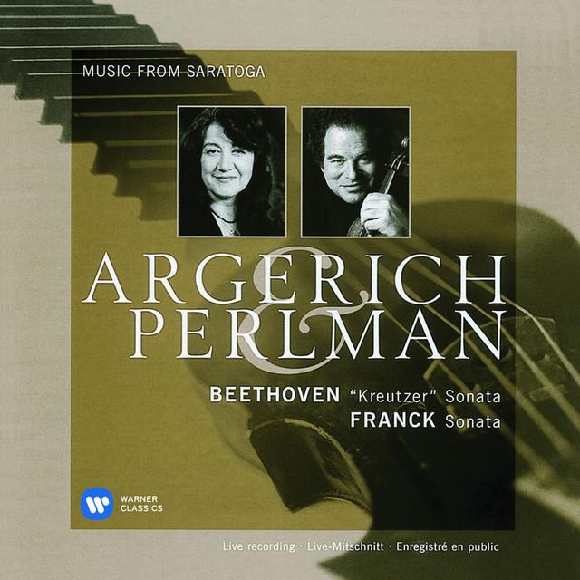 Beethoven: Violin Sonata No. 9, 'Kreutzer' - Franck: Violin Sonata Albumcover