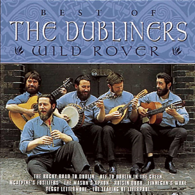 The Dubliners Wild Rover album cover