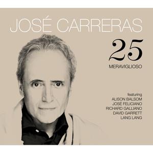 Domenico Modugno, José Carreras Meraviglioso cover