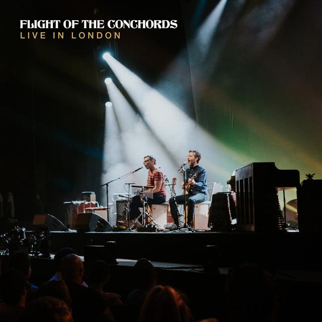 Album cover for Live in London by Flight of the Conchords