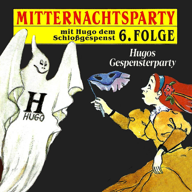 Folge 6: Hugos Gespensterparty Cover