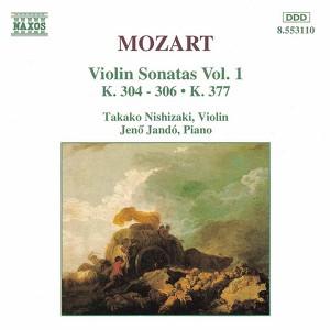 Mozart: Violin Sonatas, Vol. 1 Albumcover