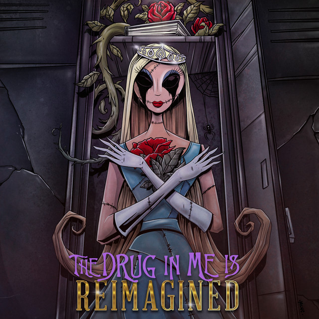 The Drug In Me Is Reimagined cover