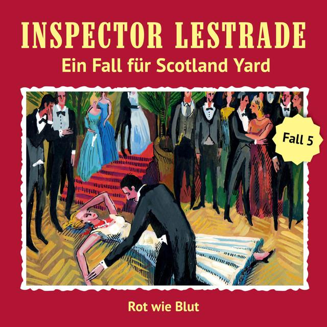 Ein Fall für Scotland Yard: Rot wie Blut Cover