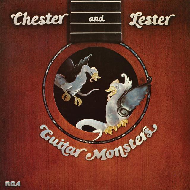 Chet Atkins, Les Paul Guitar Monsters album cover
