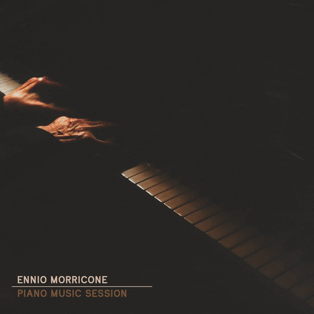 Album cover for Ennio Morricone Piano Music Session by Ennio Morricone