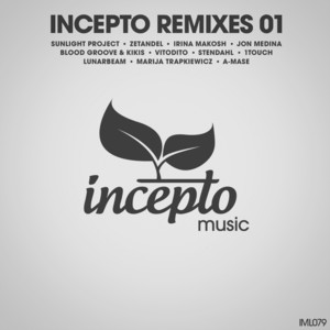 Incepto Remixes 01 Albumcover
