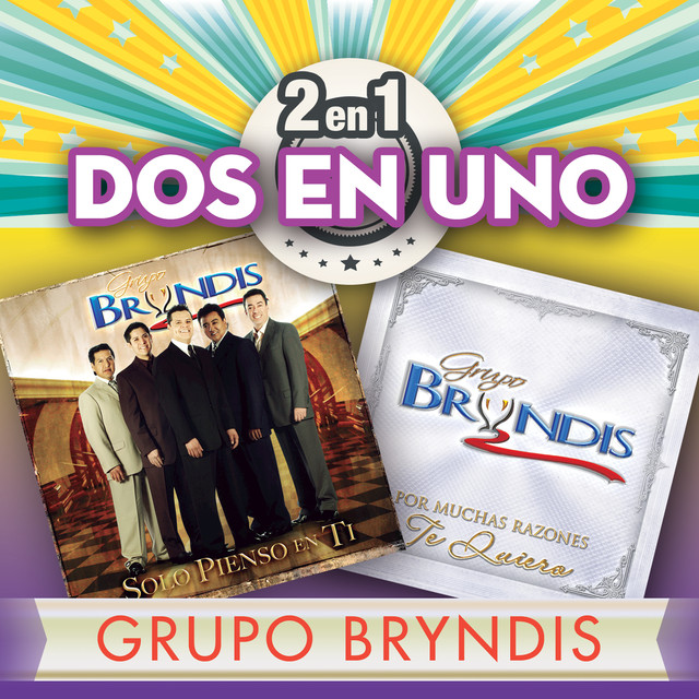 Album cover for 2En1 by Grupo Bryndis