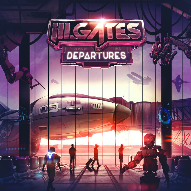 Album cover for Departures by ill.gates