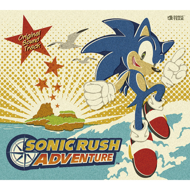 SONIC RUSH ADVENTURE Original Soundtrack (Bonus Track